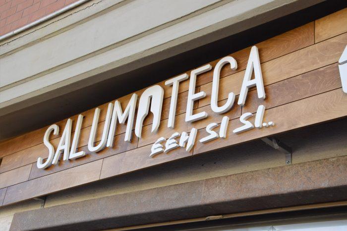 Insegna Salumoteca